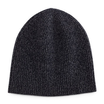 Ribbed Cashmere Beanie, Navy, NAVY - Vince