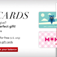 Gift Cards and E-Gift Cards at Macy's - Gift Certificates - Macy's