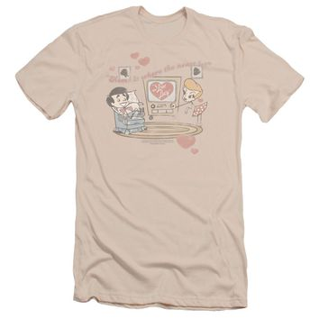 I Love Lucy - Home Is Where The Heart Is Short Sleeve Adult 30/1