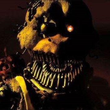 "Five Nights At Freddy's Nightmare Chica Wall Poster Picture Art Print 22""x34"""