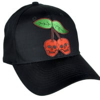 Skull Cherries Hat Baseball Cap Alternative Clothing Virgin