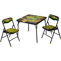 Walmart: Nickelodeon Teenage Mutant Ninja Turtle Square Table and Chair Set