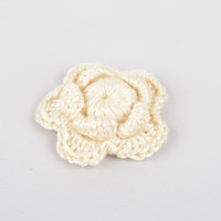 Handmade fittings for jewelry stylish blank for brooch unusual flower