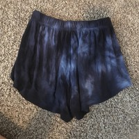 brandy Melville size small blue flowy shorts