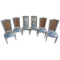 Pre-owned Mid-Century Karges French Country Chairs Set of 6