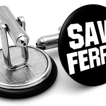 Save Ferris Bueller Cufflinks