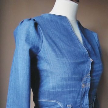 Your Denim Jacket by TheButterfliesShop on Etsy