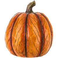 Resin Wood Look Pumpkin | Hobby Lobby