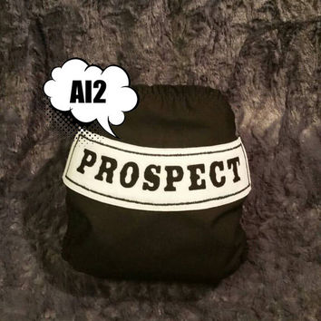 Prospect Biker All In Two (AI2) Cloth Diaper - One-Size or Newborn, S, M, L