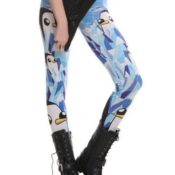 Adventure Time Gunter Leggings