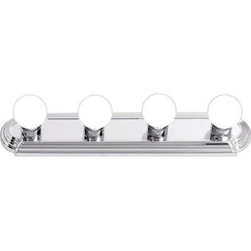 Hampton Bay 4-Light Chrome Raceway Bath Light-EW554CH at The Home Depot