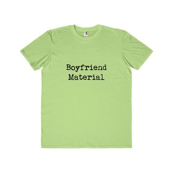 Boyfriend Material Men's Lightweight Tee