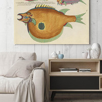 Fish Poster| Sea Life Art| Taxonomy Wall Art| Fishes Wall Art| Fishes Print| Animal Poster| Natural History| Vintage Zoology| HAP013