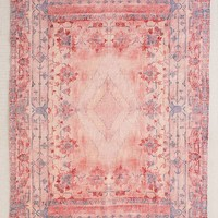 Aylla Printed Chenille Rug | Urban Outfitters