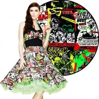 Hell Bunny B-Movie 50s Dress l Horror l Zombie l Halloween