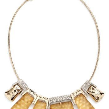 Alexis Bittar Lucite® Crystal Accent Crystal Collar Necklace | Nordstrom
