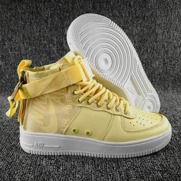 KU-YOU N097 Nike SF Air Force 1 Mid Zipper Urban Utility Ftwr Fashion Causal b111d8a2c0