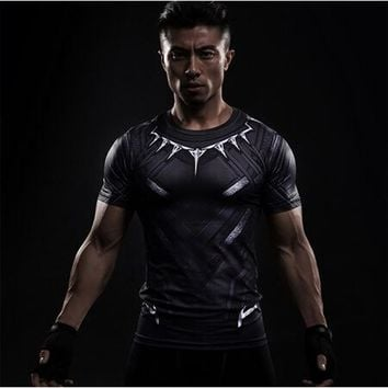 Black Panther and Super Hero 3D Printed Short Sleeve Shirts FREE SHIPPING!!!