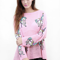 WILDFOX Carousel Ponies Jumper