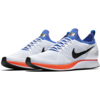 HCXX Nike Air Zoom Mariah Flyknit Racer - White/Pure Platinum/Hyper Grape/Hyper Crimson