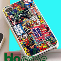 Marvel Comic For Iphone 4/4s, iPhone 5/5s, iPhone 5C, iphone 6, and iPhone 6 Plus Case