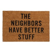 Reed Wilson Design 'Neighbors' Doormat