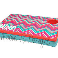Personalized Chevron Lap Desk
