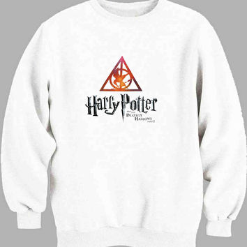 Deathly Hallows Harry Potter Sweater for Mens Sweater and Womens Sweater *