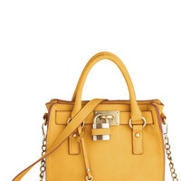 Full Course Load Bag in Yellow - 9.5"