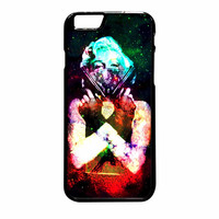 Marilyn Monroe Tattooed Flower With Pistol Gun Galaxy iPhone 6 Plus Case