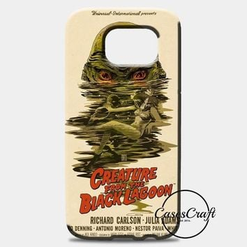 Creature From The Black Lagoon Poster Samsung Galaxy S8 Case | casescraft