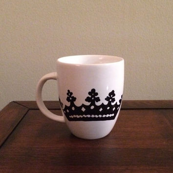 Coffee Mug with Crown, ZTA crown mug