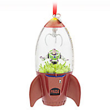 Buzz Lightyear and Aliens Sketchbook Ornament
