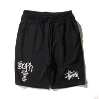 Casual Korean Outdoors Cotton Pants Shorts [10269441095]