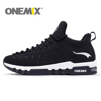 ONEMIX New Cushion Running Shoes For Men Comfortable Air Light Breathable Sneakers For Women Outdoor Walking Shoes