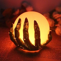 Halloween Ghost Hand LED Color Changing Flameless Candle