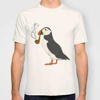 Puffin' T-shirt by Megstuff