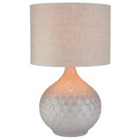 Blakely Table Lamp ~ Ivory