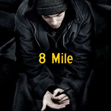 8 Mile Movie poster 24inx36in Poster