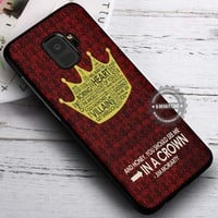 Crown Quotes Sherlock Holmes iPhone X 8 7 Plus 6s Cases Samsung Galaxy S9 S8 Plus S7 edge NOTE 8 Covers #SamsungS9 #iphoneX