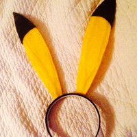Pikachu Cosplay Ears