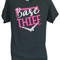 Base Thief Softball T-shirt
