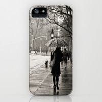 New York City - Rain iPhone & iPod Case by Vivienne Gucwa