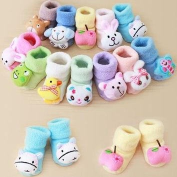 Cartoon Newborn Kids Baby Girls