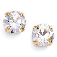 Women's L. Erickson 'Grace' Crystal Stud Earrings