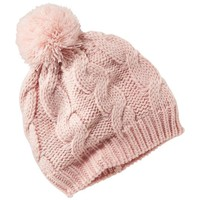 Old Navy Cable Knit Pom Pom Beanie For Baby
