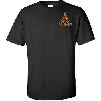 Past Master T Shirt Masonic Logoz USA [Apparel]