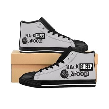 Black Sheep Crooks Men's High-top Sneakers
