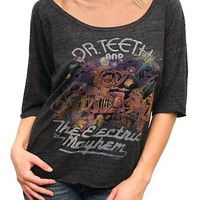The Muppets Dr. Teeth and The Electric Mayhem Vintage Triblend Slouch Raglan - Women's Tops - Short Sleeve - Junk Food Clothing