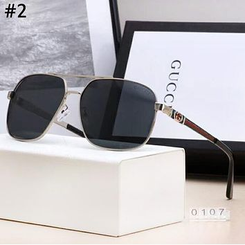 GUCCI new tide brand big box men and women driving polarized sunglasses #2